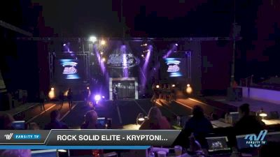 Rock Solid Elite - Kryptonite [2019 Senior - D2 3 Day 2] 2019 US Finals Pensacola