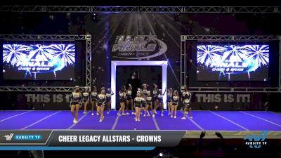 Cheer Legacy Allstars - Crowns [2021 L1 Junior - D2 Day 2] 2021 The U.S. Finals: Ocean City