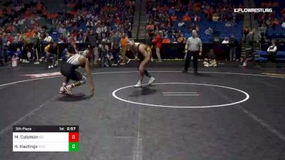 174 lbs 5th Place - Marcus Coleman, Iowa State vs Hayden Hastings, Wyoming