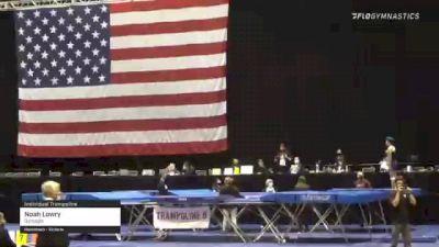 Noah Lowry - Individual Trampoline, Gymagic - 2021 USA Gymnastics Championships