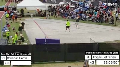 Replay: Shot Put - 2021 AAU Junior Olympic Games | Aug 4 @ 8 AM