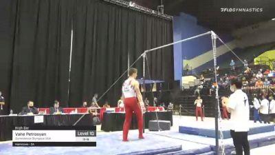 Vahe Petrosyan - High Bar, Gymnastics Olympica USA - 2021 USA Gymnastics Development Program National Championships