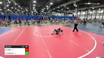 65 lbs Rr Rnd 2 - Wyler Allen, Lions Wrestling Academy vs Garrett Williams, Summit Wrestling Academy