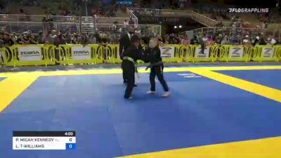 PEYTON MICAH KENNEDY vs LEON LEBRON TSYGANOK-WILLIAMS II 2021 Pan Kids Jiu-Jitsu IBJJF Championship