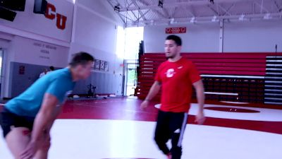 Cory Cooperman Shows Many Ways To Counter An Underhook