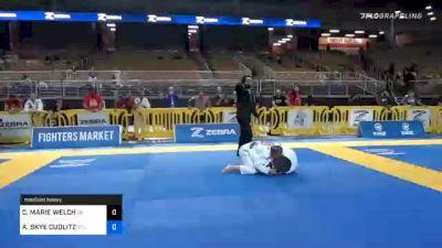 CASIDY MARIE WELCH vs AMANDA SKYE CUDLITZ 2020 World Master IBJJF Jiu-Jitsu Championship