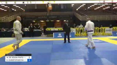 WENDERSON DE SOUSA PINTO vs KEVIN CHRISTOPHER RARIDEN 2020 World Master IBJJF Jiu-Jitsu Championship