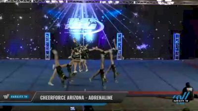 CheerForce Arizona - Adrenaline [2021 L1 - U17 Day 2] 2021 The U.S. Finals: Phoenix
