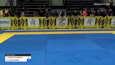 TIMOTHY WAYNE PEARSON vs DUSTIN SHELHAMER 2021 Pan IBJJF Jiu-Jitsu No-Gi Championship