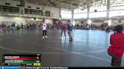 90 lbs Round 1 (4 Team) - Sandy Breeden, Missouri Blue vs Nevaeh McCue, Indiana INFERNO BLACK