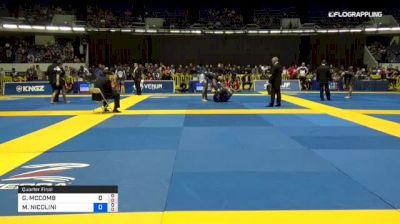 GABRIELLE MCCOMB vs MICHELLE NICOLINI 2018 World IBJJF Jiu-Jitsu No-Gi Championship