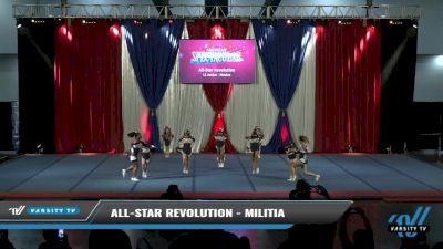 All-Star Revolution - MILITIA [2021 L1 Junior - Novice Day 2] 2021 The American Spectacular DI & DII