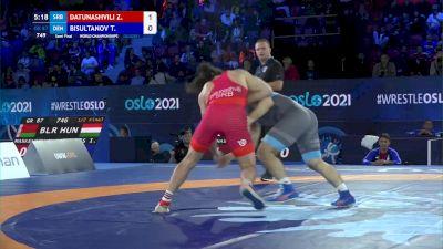 87 kg 1/2 Final - Zurabi Datunashvili, Serbia vs Turpan Bisultanov, Denmark