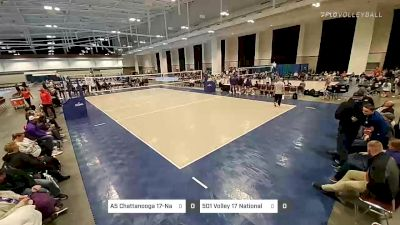 A5 Chattanooga 17-Nancy vs 501 Volley 17 National - 2020 Music City Championships
