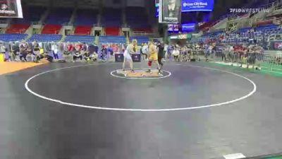 220 lbs Semifinal - Joshua Howell, Indiana vs Andrew Blackburn-Forst, Illinois