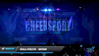 Ocala Athletix - INFERNO [2021 L2 Senior - D2 - Small Day 2] 2021 CHEERSPORT National Cheerleading Championship