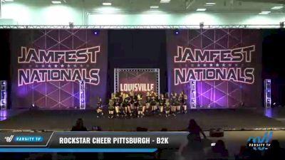 Rockstar Cheer Pittsburgh - B2K [2021 L2 Junior - Medium Day 2] 2021 JAMfest: Louisville Championship