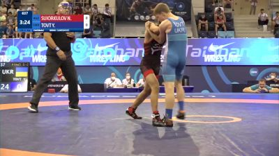 51 kg Final 1-2 - Nuristan Suiorkulov, Kyrgyzstan vs Yurii Tovt, Ukraine