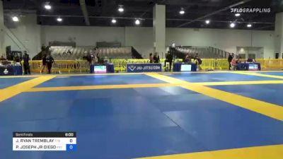 JACOB RYAN TREMBLAY vs PATRICK JOSEPH JR DIEGO 2021 American National IBJJF Jiu-Jitsu Championship