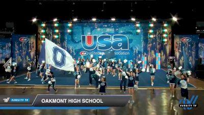 Oakmont High School [2020 Crowdleader® Teams Day 1] 2020 USA Spirit Nationals