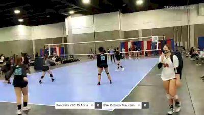 Sandhills VBC 15 Adrian vs BVA 15 Black Maureen - 2021 Capitol Hill Volleyball Classic