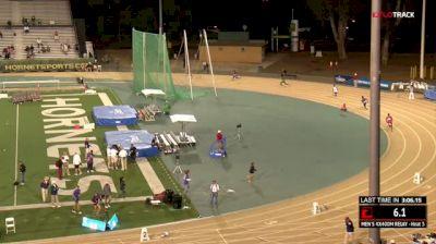 Men's 4x400m Relay, Quarterfinal 3