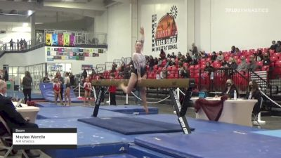 Maylee Wendle - Beam, AIM Athletics - 2021 Region 3 Women's Championships