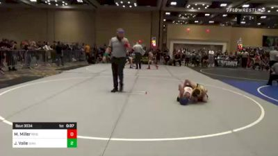 82 lbs Consi Of 8 #1 - Miles Miller, Reign WC vs JaKobe Valle, Idaho Gold WC