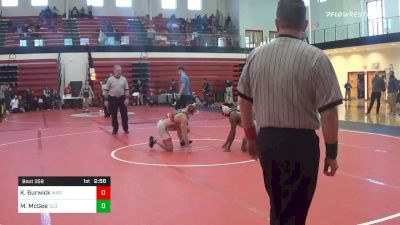 133 lbs Final - Kyle Burwick, Wisconsin vs Michael McGee, Old Dominion