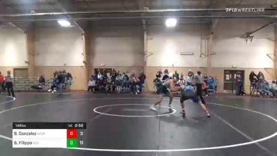 149 lbs Prelims - Blake Gonzalez, NEO vs Brik Filippo, Central Oklahoma