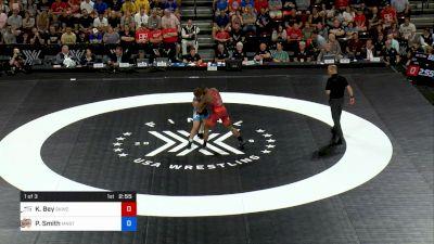 77 kg 1 Of 3 - Kamal Bey, Sunkist Kids Wrestling Club vs Patrick Smith, Minnesota Storm