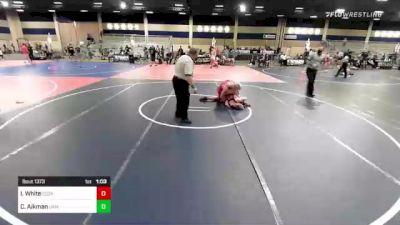 160 lbs Final - Isaac White, Cozad vs Casey Aikman, Ukiah