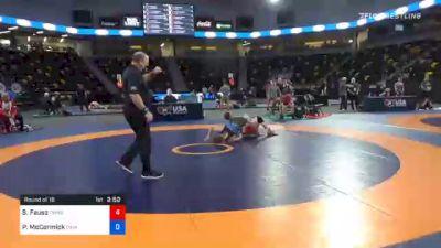 61 kg Prelims - Sean Fausz, TMWC/ SOCAL RTC vs Patrick McCormick, Cavalier Wrestling Club