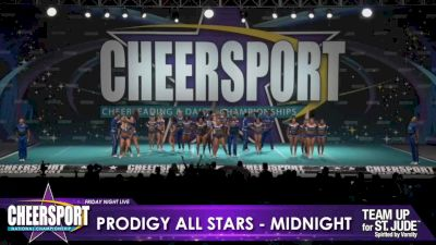 Prodigy All-Stars - Midnight [2020 L6 Senior Medium Coed Day 1] 2020 CHEERSPORT Nationals: Friday Night Live