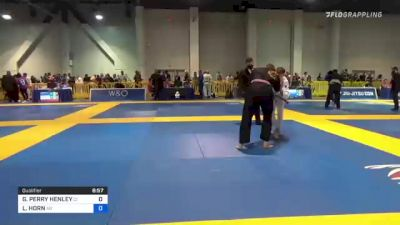 GRAYSON PERRY HENLEY vs LONDON HORN 2021 American National IBJJF Jiu-Jitsu Championship