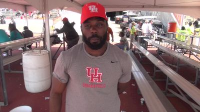 Houston's Cameron Burrell Plans To Attempt A Fast 200m This Spring