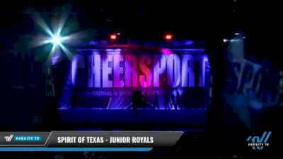 Spirit of Texas - Junior Royals [2021 L6 Junior Day 2] 2021 CHEERSPORT National Cheerleading Championship