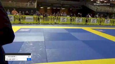 TERESA SCUDERI vs DESTINI LIN IVEY 2021 Pan Kids Jiu-Jitsu IBJJF Championship