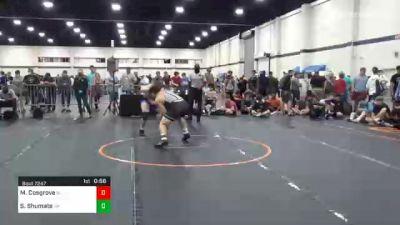 195 lbs Consolation - Martin Cosgrove, NJ vs Seth Shumate, OH