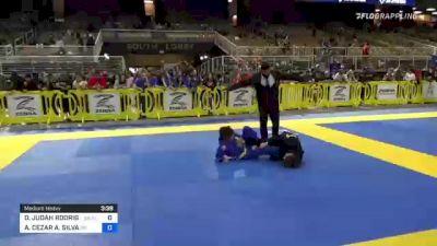 DYLAN JUDAH RODRIGUEZ vs AUGUSTO CEZAR A. SILVA 2021 Pan Kids Jiu-Jitsu IBJJF Championship