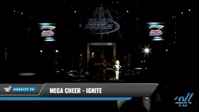 Mega Cheer - Ignite [2021 L2 Youth - Small Day 1] 2021 The U.S. Finals: Kansas City