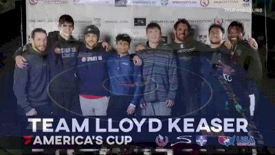 65 kg Semifinal - Nahshon Garrett, Team Bobby Douglas vs Evan Henderson, Team Lloyd Keaser
