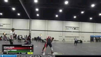 167 lbs 5th Place Match - Ethan Kring, North Carolina vs Brycen Turner, Florida