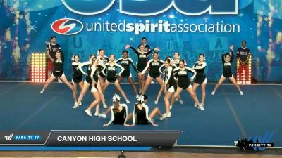 Canyon High School [2020 Large JV Show Cheer Novice (17-20) Day 2] 2020 USA Spirit Nationals