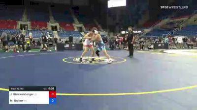 120 lbs Quarterfinal - Jett Strickenberger, Colorado vs Mitchell Neiner, Washington