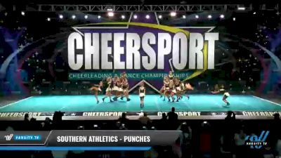 Southern Athletics - Punches [2021 L4 Junior - D2 - Small Day 1] 2021 CHEERSPORT National Cheerleading Championship