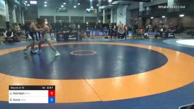 63 kg Prelims - Jordan Hamdan, Michigan Wrestling CLub vs Dyson Kunz, MWC Wrestling Academy