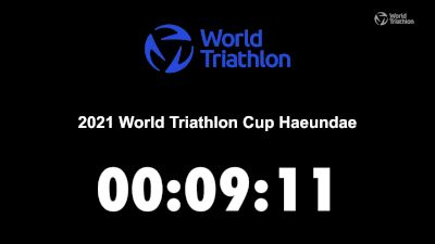Replay: World Triathlon Cup: Haeundae | Oct 23 @ 8 AM