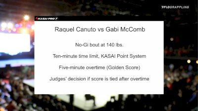 Raquel Canuto vs Gabi McComb 2020 KASAI Pro 7