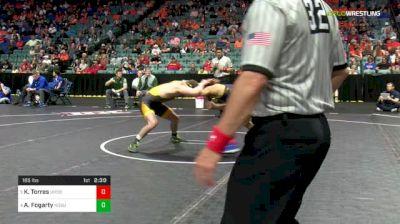 165 lbs Quarterfinal - Keilan Torres, Northern Colorado vs Andrew Fogarty, North Dakota State